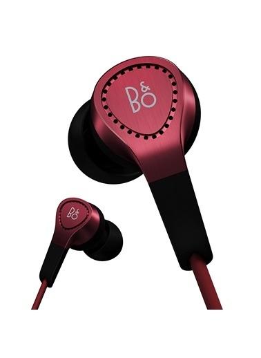 Bang Olufsen BeoPlay H3 Kırmızı Apple Uyumlu Kulak İçi Mikrofonlu Kulaklık Kırmızı